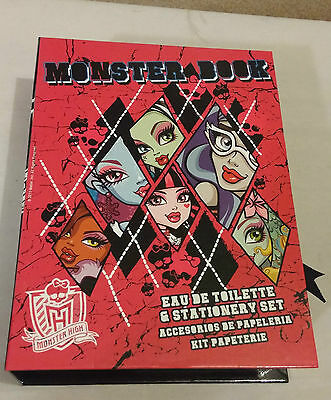 Monster High 50ml EDT & Stationary Gift Set Monster Book