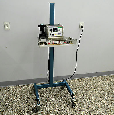 APM TBS 3/8 Manufacturing Portable Package Table-Top Rotary Band Sealer 3/8""