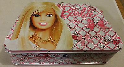 Barbie 50ml EDT & Tattoo Gift Set In Handbag Shaped Tin