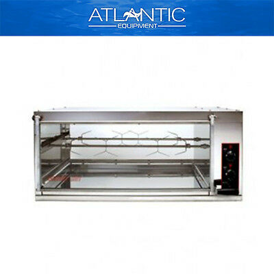 Chicken Rotisserie Semak M8 Manual Electric Rotisserie