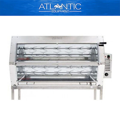 Chicken Rotisserie Semak M36S Manual Electric Rotisserie - 36 Birds