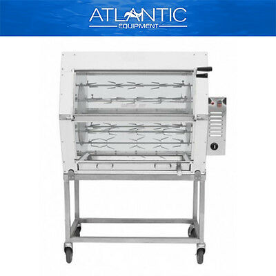 Chicken Rotisserie Semak M24S Manual Electric Rotisserie - 24 Birds