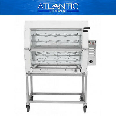 Chicken Rotisserie Semak M18 Manual Electric Rotisserie - 18 Birds