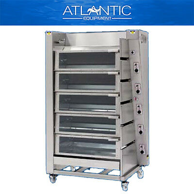 Chicken Rotisserie Radiant 2000 T6 Gas Chicken Rotisserie