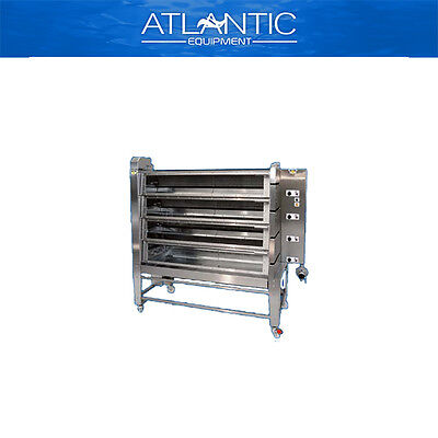 Chicken Rotisserie Radiant 2000 Model T5N Gas Chicken Rotisserie