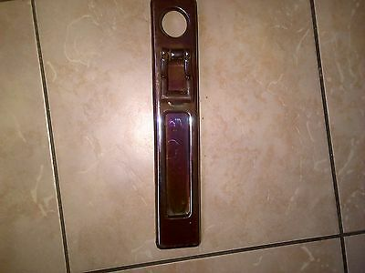 Art Deco  Vertical Door Knocker with Letterbox bronze/copper colour