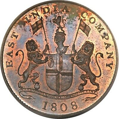 British East India Company 1808 20 Rupees Copper Coin | Clone Free Shipping