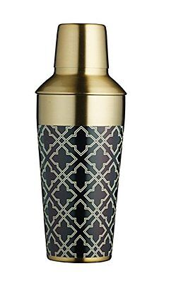 Barcraft metallo Shaker per cocktail, 650 ml (22 ml), finitura in ottone