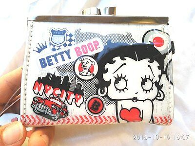CLASSIC Betty Boop  PVC Coin Purse Wallet / Purse collection  Ideal Gift