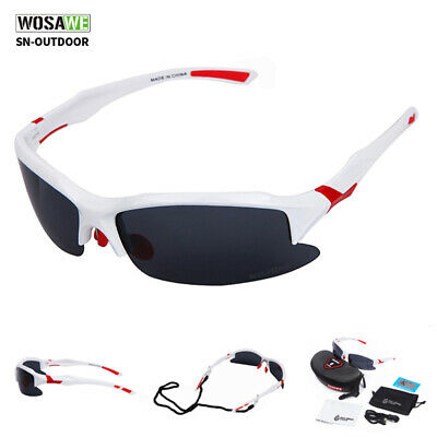 Sports Cycling Bicycle Bike Glasses UV400 Polarized Sunglasses  Eyewear Goggles