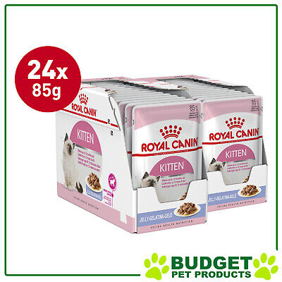 Royal Canin Pouches Instinctive in Jelly Kitten For Cats 85g x 24