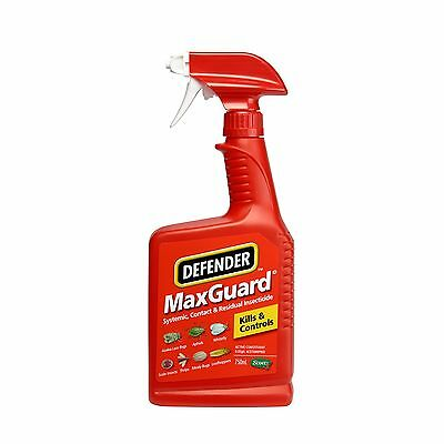 Defender Maxguard SYSTEMIC CONTACT & RESIDUAL INSECTICIDE Spray, 750ml