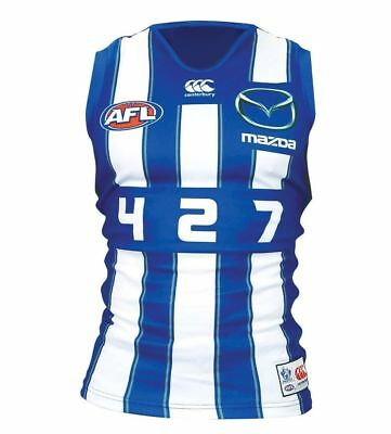 North Melbourne Kangaroos AFL Boomer Guernsey Adults and Kids Sizes BNWT6