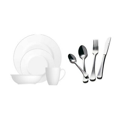 Maxwell & Williams White Basics Cosmopolitan Dinner & Cutlery Set 32 Piece