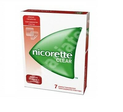 Nicorette Clear Nicotine 25 Mg  7 Patches