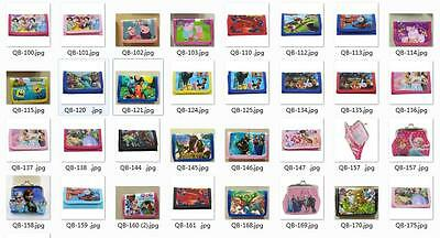 Kind Children Disney Cartoon Fantasy Handbags Wallets Purses Multi Film MV RoleM