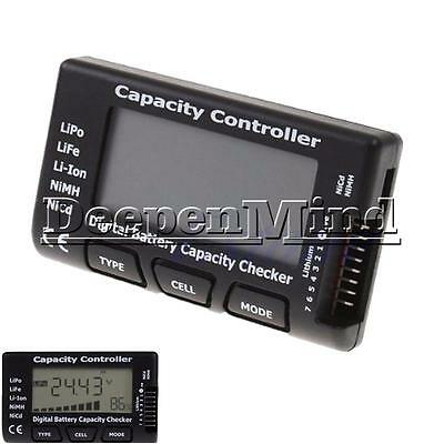 RC CellMeter-7 Digital Battery Capacity Checker For LiFe LiPo Li-ion NiMH Nicd