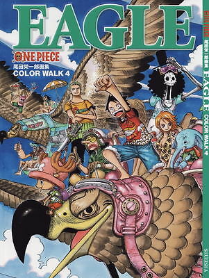 ONE PIECE Color Walk 4 Eagle *** ARTBOOK * neu