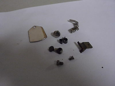Singer Sewing Machine Part Model 128 Feed Dog, Cutter, Foot, Cover Needle Clamp
