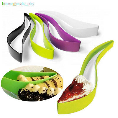 Plastic Cake Knife Wedding Server Party Clamp Bread Cutter Holder Baking Tools