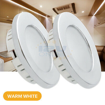 LED Recessed Ceiling Lights for RV Trailer Boat Cabin Interior Down Lighting WW