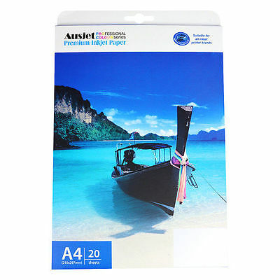 T-Shirt Transfer Paper Iron on A4, for Inkjet & light fabric 180gsm (20 Sheets)