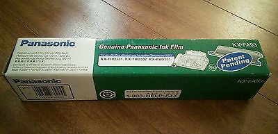 Panasonic KX-FA93 ink Film For: KX-FHD331, KX-FHD332, KX-FHD351 NEW