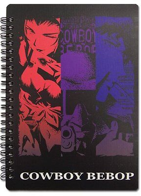 NEW Great Eastern Entertainment Cowboy Bebop Group Notebooks Notebook SHIPS FREE