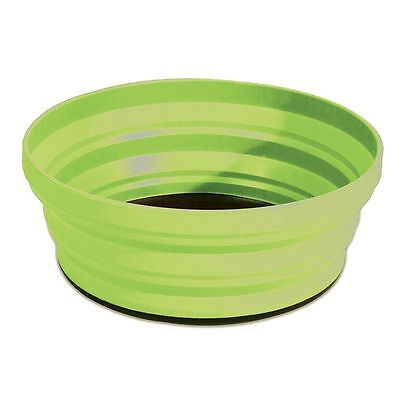 4 Folding Silicone Travel Bowls - Assorted colours - Yellowstone
