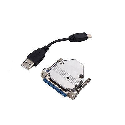New USB to Parallel Adapter USB CNC Controller For MACH3 UC100