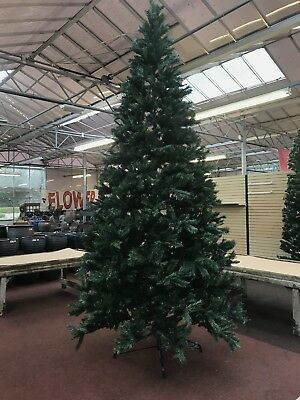 PREMIER 3m (9FT10) HUGE Majestic Hinged Pine Christmas Tree Green Needles