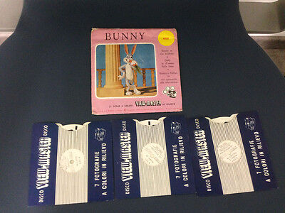 View Master Bunny Stereodisco Reel Rells Vintage