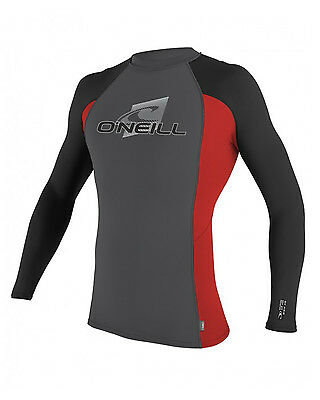 O'Neill Skins  Mens Rash Vest in Multi - On Sale Now
