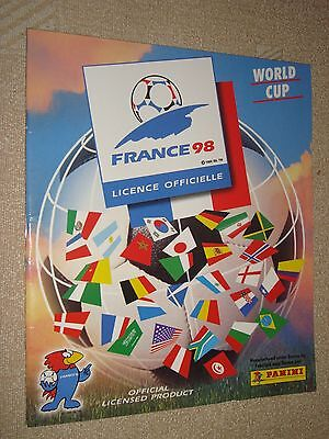 PANINI France 1998 Soccer Football World Cup official album reprinted complete
