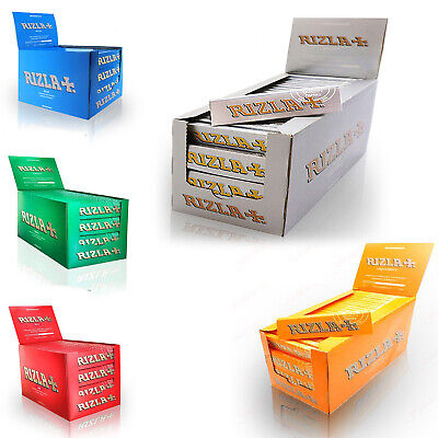 100x RIZLA GREEN MEDIUM REGULAR CIGARETTE ROLLING PAPERS 100% GENUINE RIZZLA UK!