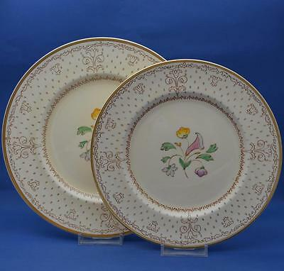 Clarice Cliff Salad & Dinner Plate Royal Staffordshire Pottery