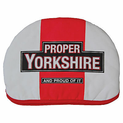 "Proper Yorkshire Tea Cosy - Kitchen Teapot Cover 12"" x 9"" Gift for him her"
