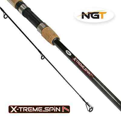 New NGT Xtreme Spin 7ft/9ft 2pc 5-25g Carbon Spinning Fishing Rod 2.1m/2.40m