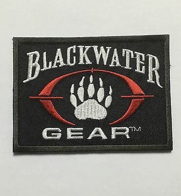 Tactical Paintball Black Water Paw Patch-1016