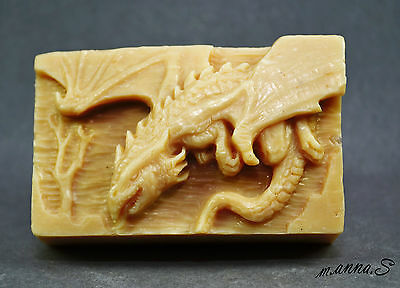 DRACHEN  Seife Silikonform  mold silicone mould dragon