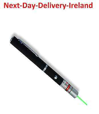 Powerful Strong Laser Pointer Green Beam -1mw 2xAAA Cat Dog Toy PowerPoint
