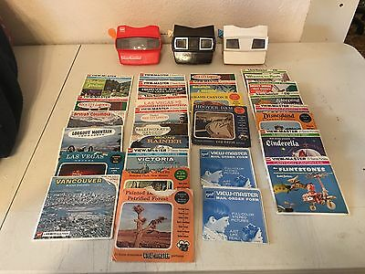 Collection Of Viewmasters And Stereo Pictures