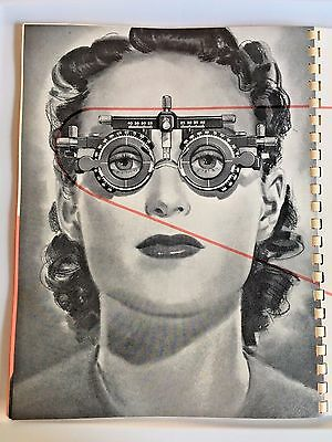 Optometry OPTICAL INSTRUMENTS CATALOG OPHTHALMIC 1947 Phorometers Microscopes