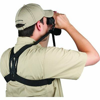 Allen Deluxe Molded Binocular Strap - Comfort Over Shoulder Binocular Holder 195