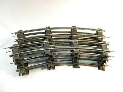 American Flyer S Gauge Curve Track  10 Sections with Pins