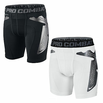 Nike Youth Boys Pro Combat Hyperstrong Compression Core Training Shorts 449365
