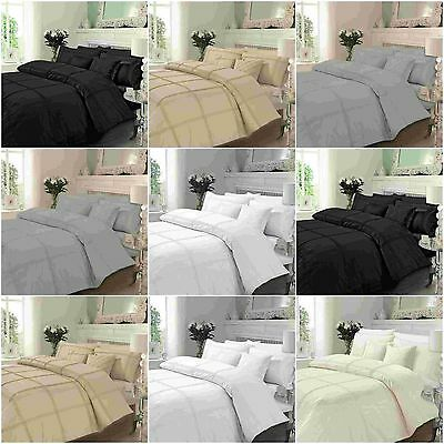 New Luxury Hamlet  Duvet Quilt Cover Bedding Set With Pillow Cases All Sizes