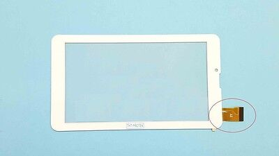 Weiss Touchscreen Digitizer glas version 2 komp. Mit ARCHOS 70C XENON
