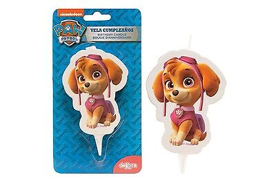 PAW PATROL SKYPE Candle Birthday Cake Candle Topper Figure Character