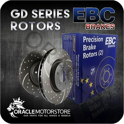New Ebc Turbo Groove Front Discs Pair Performance Discs Oe Quality - Gd1450